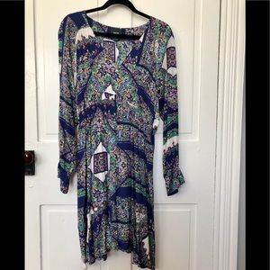 ANTHROPOLOGIE MULTI COLORED DRESS